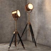 Напольная лампа Spotlight Floor Lamp FL038-1-BRS