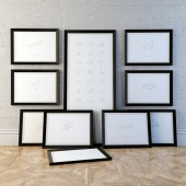 Картины ONE LINE ANIMALS