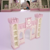 Children's decor - Castle for girls