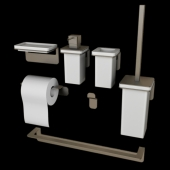 Colombo Over Bathroom Accessories