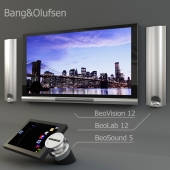Bang&Olufsen - BeoVision 12, BeoLab 12 и BeoSound 5