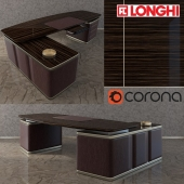 Офисный стол ECTOR DESK WITH PENINSULA