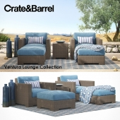 Коллекция Ventura Lounge Crate&barrel