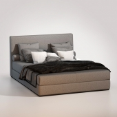 Кровать Minotti Powell Bed