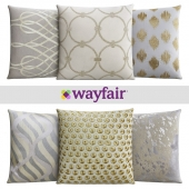 Throw pillows from Wayfair Shop 9