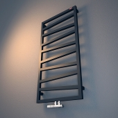 Electric heated towel rail Terma Zigzag