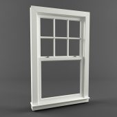 Американское окно - Double Hung Window