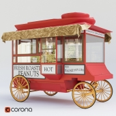 "Popcorn wagon - 1903 Cretors ""Model C"""