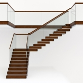 Staircase in modern style
