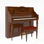 W.Hoffmann Piano and Discacciatisrl Piano Chair