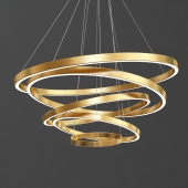 Large Rings LED Pendant Lights