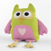 Stuffed toy owl