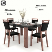 Alhambra Dining Set