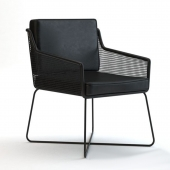 Vale studio black chair