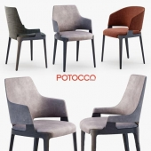 Velis chair, armchair by Potocco