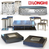 Coffee tables set by Fratelli Longhi