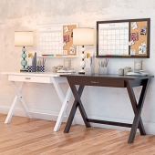 X Frame Desk PBTEEN and decor