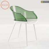 Modern chair Cyborg by Magis