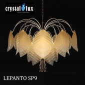Crystal Lux LEPANTO SP9 chandelier