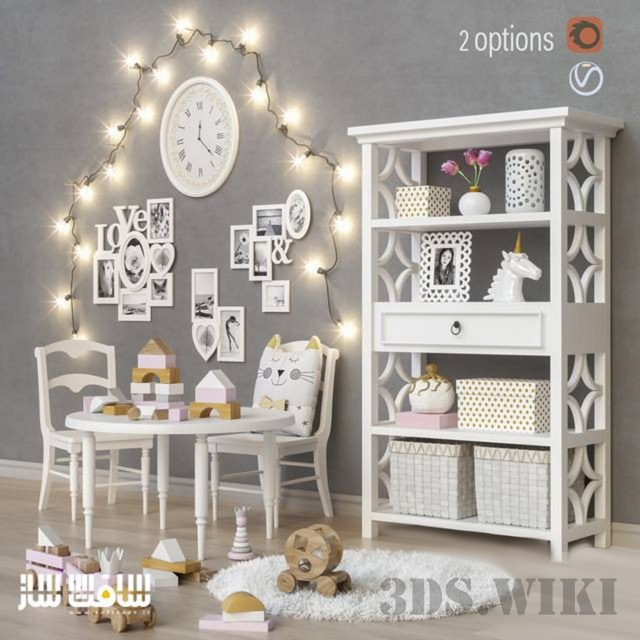 Toys and furniture by Pottery Barn Kids