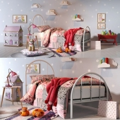 Classic bedroom set for girl