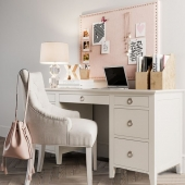 Bryn Teen Storage Desk by RH