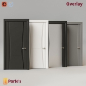 Overlay doors by Portes