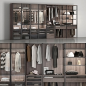 Wardrobe by brand Poliform