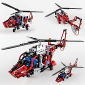 8068 Rescue Helicopter by Lego