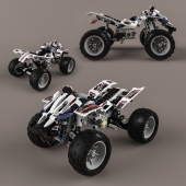 Toy 8262 Quad-Bike by Lego