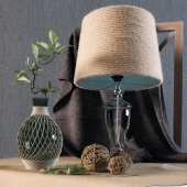 Table lamp and decor