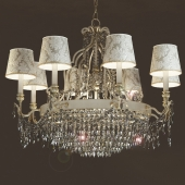 Classic chandelier GLASSE 4010