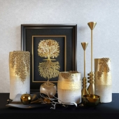 Decorative set «Noble Gold»
