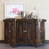 Shaped Credenza by Hooker Furniture