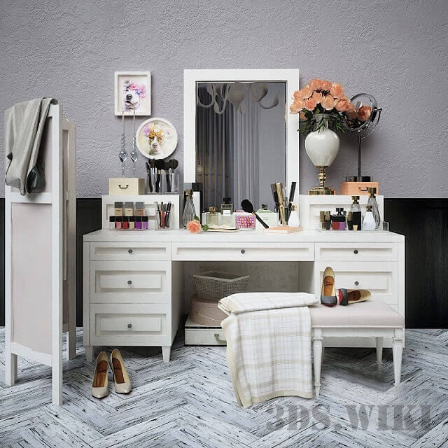Decorative set dresser