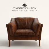 Armchair Reggio High Back by Timothy Oulton