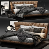 Husk Bed by B&B Italia