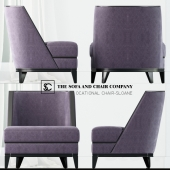 Sloane occasional chair by The Sofa & Chair Company Ltd