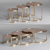Coffee table ANYA Fendi Casa 3D model