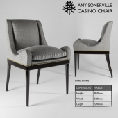 Casino armchair by Amy Somerville