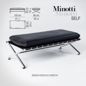 Bench Self by Minotti