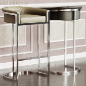 Barstool Calvin by Arteriors Home 3d model