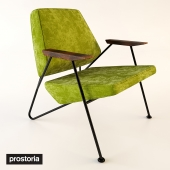 Modern armchair Polygon by Prostoria