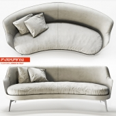 Sofa Guscio by Flexform
