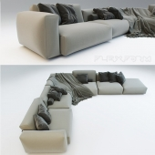 Sofa Lario by Flexform