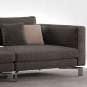 Modular sofa Flou Tay composition A