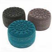 Round Pouf Collection 11 3d models