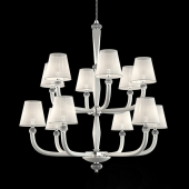 White classic chandelier