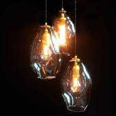 Pendant lamp Organic Large by Lighting Republic