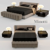 Creed Bed by Minotti